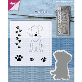 Joy!Crafts Die & stamps - Mery's Dog