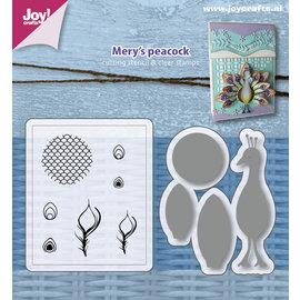 Joy!Crafts Die & stamps - Mery's Peacock