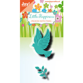 Joy!Crafts Cut-embossdie - LH - Pigeon with twig