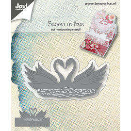 Joy!Crafts Cut-embossdie - Swans in love
