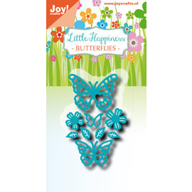 Joy!Crafts Cuttingstencil - Noor - LH - Butterflies