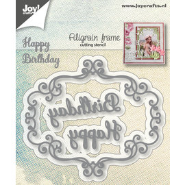 Joy!Crafts Cuttingstencils - Filigrain frame