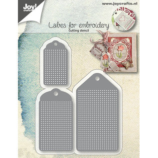 Joy!Crafts Cuttingstencils - Embroidery Labels