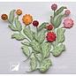 Joy!Crafts Cut-emboss-debossdie - Flower Zinnia