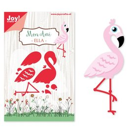 Joy!Crafts Snijstencil - Mon Ami - Flamingo Ella