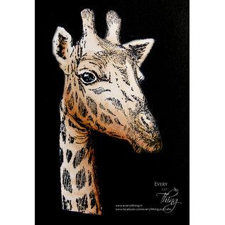 Joy!Crafts Clear stempel - Giraffe