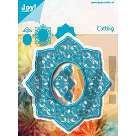 Joy!Crafts Snijstencil - Noor - Lovely Oval
