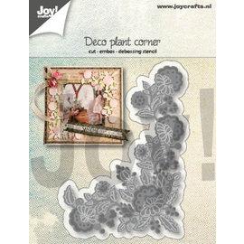 Joy!Crafts Snij-embos-debosstencil - Deco-Plantenhoek