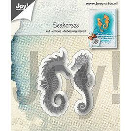 Joy!Crafts Snijstencil - Zeepaardjes