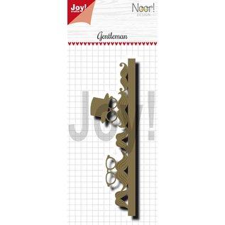 Joy!Crafts Snijstencil - Noor - Border True Gentleman