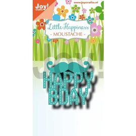 Joy!Crafts Snijstencil - Noor - LH - Moustache