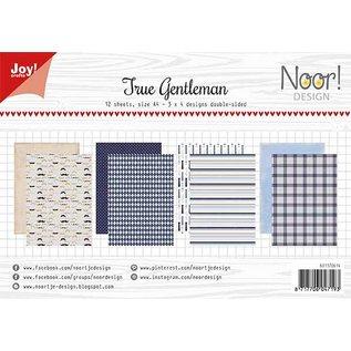 Joy!Crafts Design Papierset - Noor - Design True Gentlemen
