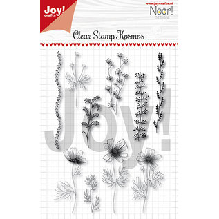 Joy!Crafts Clearstempel - Noor - Condoleance - Kosmos bloemen
