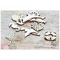 Joy!Crafts Woodsters - Houten figuren - Zeester- schelp- vis