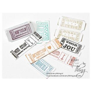 Joy!Crafts Die & stamps - Noor - CC - Tickets