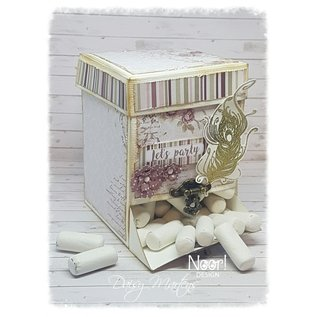 Joy!Crafts Scrap Box Stencil - Noor -  Candy Dispenser