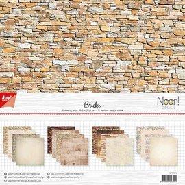 Joycrafts Scrappapier - Noor - Design Stenen
