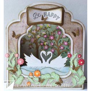 Joy!Crafts Cut-embossdie - Swans in love