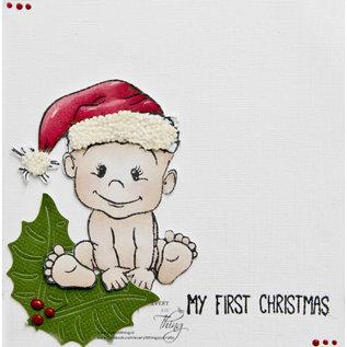 Joy!Crafts Stempel - kerstbeertjes/eerste kerst