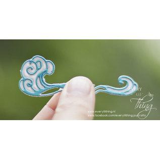 Joy!Crafts Snijstencil - Sketch Art - water