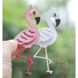 Joy!Crafts Snijstencil - Mon Ami - Flamingo Ella