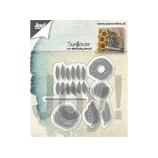 Joy!Crafts Snij-debosstencil - Zonnebloem