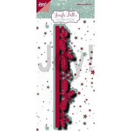 Joy!Crafts Snij-embosstencil - Jingle Bells - Border-guirlande