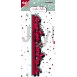 Joy!Crafts Snij-embosstencil - Jingle Bells - Border-guirlande