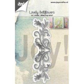 Joy!Crafts Snij-embos-debosstencil- Mooie klokbloem (campanula)