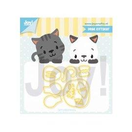 Joy!Crafts Snijstencil - Jocelijne - Lieve Kittykat
