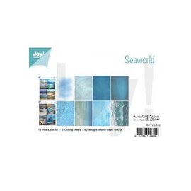 Joy!Crafts Knipvellen/Papierset - Bille - Design Seaworld