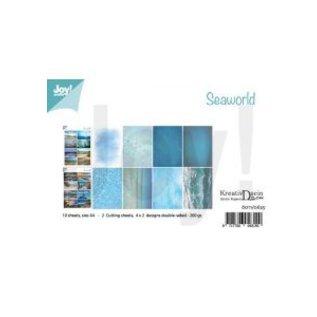 Joy!Crafts Knipvellen/Papierset - Bille - Design Seaworld