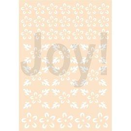 Joy!Crafts Polybesastencil - Bloemen-achtergrond