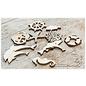 Joy!Crafts Woodsters - Figuren hout: Dolfijnen (3)
