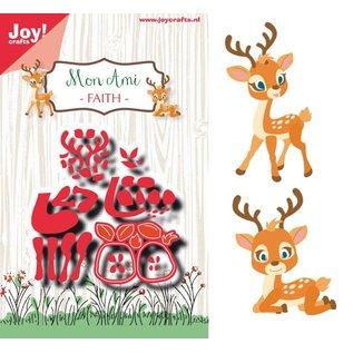 Joy!Crafts Snijstencil - Noor- Mon Ami - Hertje Faith