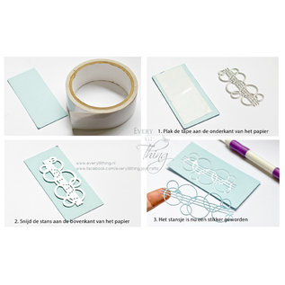 Joy!Crafts Dubbelzijdig zelfklevend craft tape