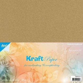 Joycrafts  Kraft papier 305x305 mm 220 gr.