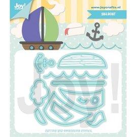 Joy!Crafts Snij-embosstencil - Jocelijne - Zeilboot
