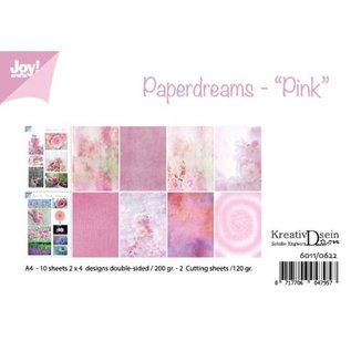 Joy!Crafts Papierset - Bille - Design Paperdreams 'Pink'