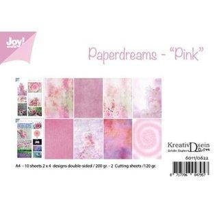 Joy!Crafts Papierset - Bille - Design Paperdreams 'Pink'