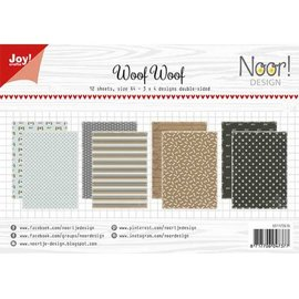 Joy!Crafts Papierset - Noor -  Design WoofWoof