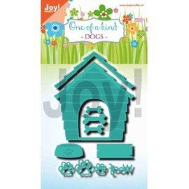Joy!Crafts Snijstencil - Noor - One of a kind - Hondenhok