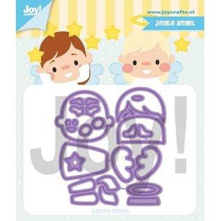 Joy!Crafts Snijstencil - Jocelijne - Jingle Angel
