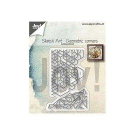 Joy!Crafts Snijstencils - Sketch Art - Geometrische hoeken