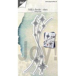Joy!Crafts Snijstencil - Bille's border - Sterren