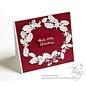 Joy!Crafts Snij-embosstencils - Jingle Bells - Guirlande krans
