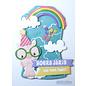 Joy!Crafts Snij-stencils - Tumble Friends - Jocelijne - Rainbow-sky