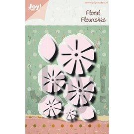 Joy!Crafts Snijstencil - Noor - Charlotte - Bloem stikdesign