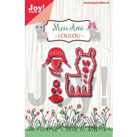Joy!Crafts Snijstencil - Noor - Mon Ami - Lama Loulou