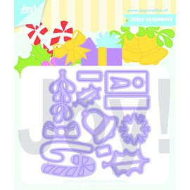 Joy!Crafts Snijstencil - Jocelijne - Jingle Ornamenten